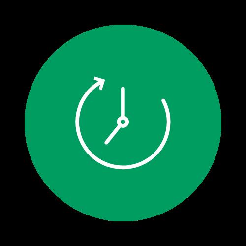 Time rewind icon
