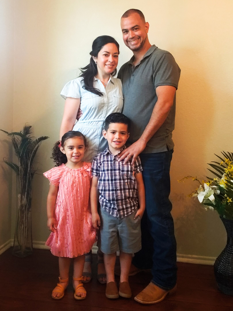 Family photo of client testimonial